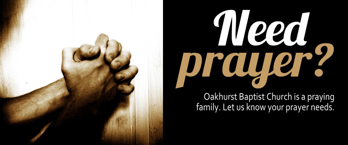 Prayer request slider